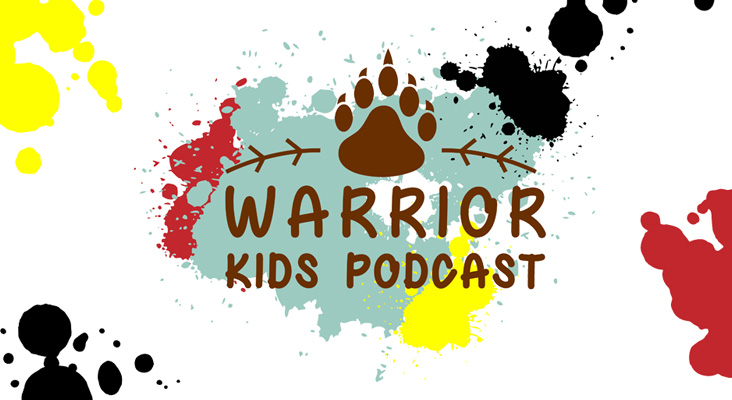 Warrior Kids Podcast logo